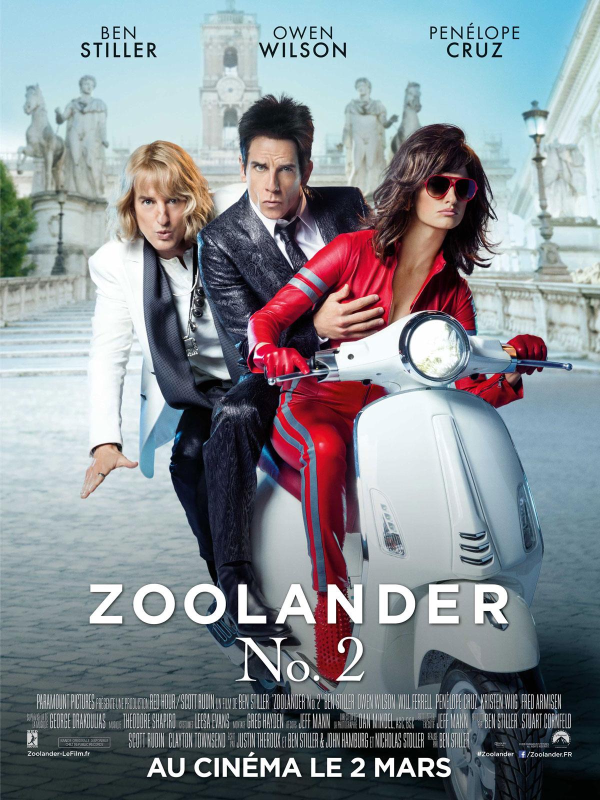Zoolander 2 en streaming