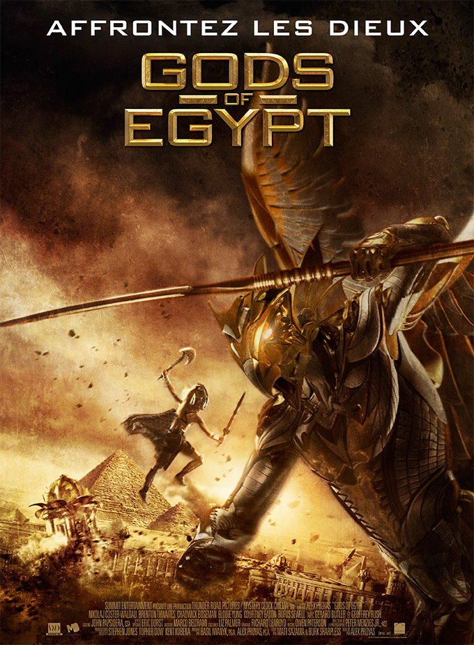 Gods Of Egypt FRENCH DVDSCR 2016