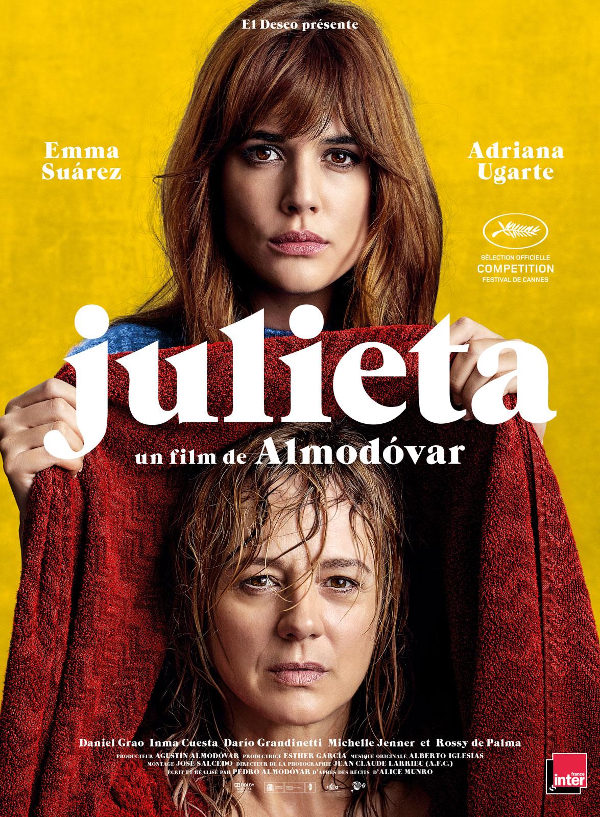 """Affiche du film """"Julieta"""""""