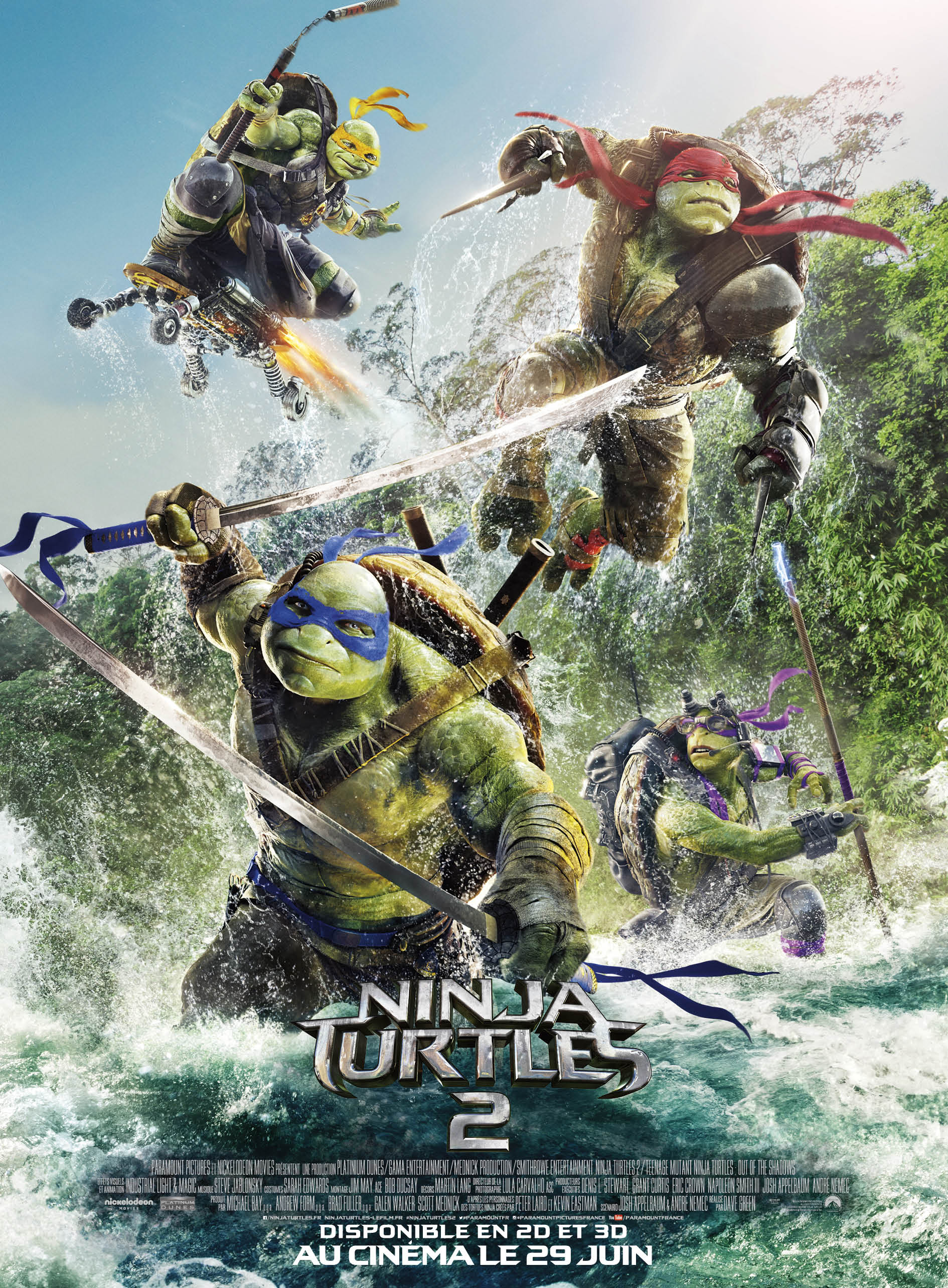 Ninja Turtles 2 ddl