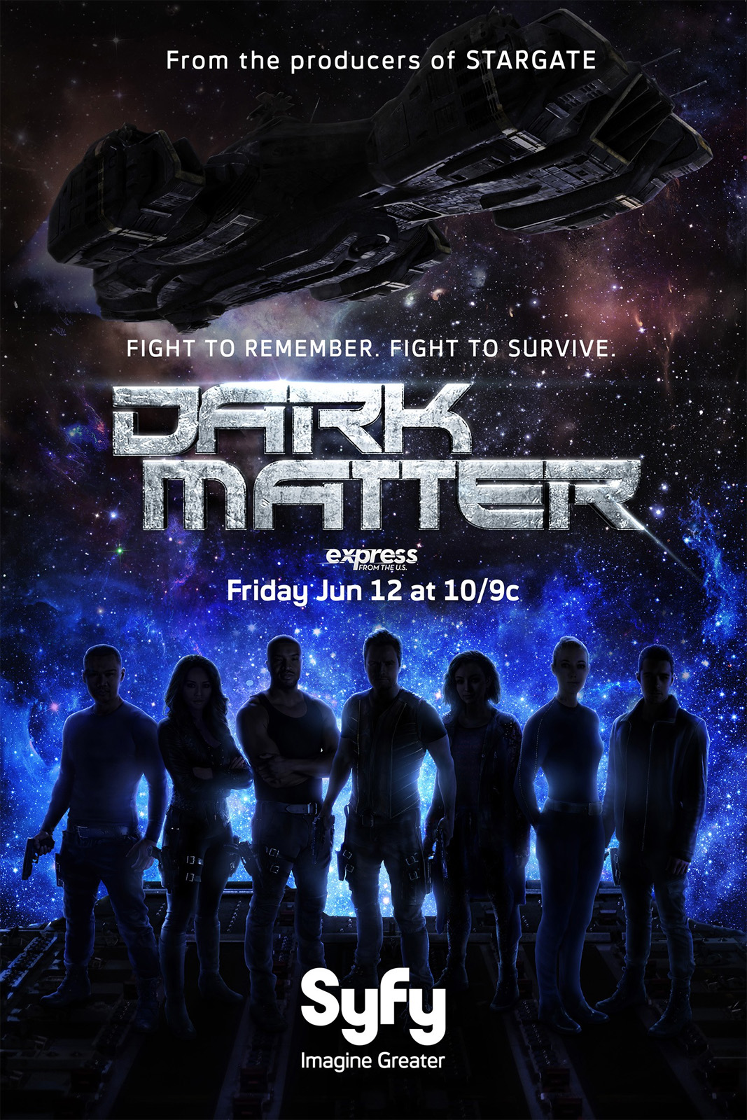 Dark Matter - Série TV 2015 - AlloCiné