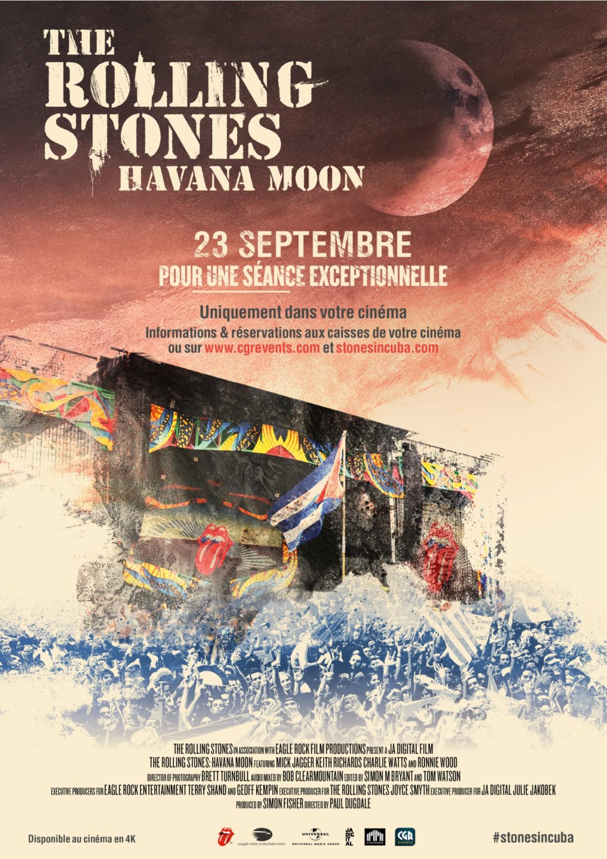 Les Rolling Stones Havana Moon