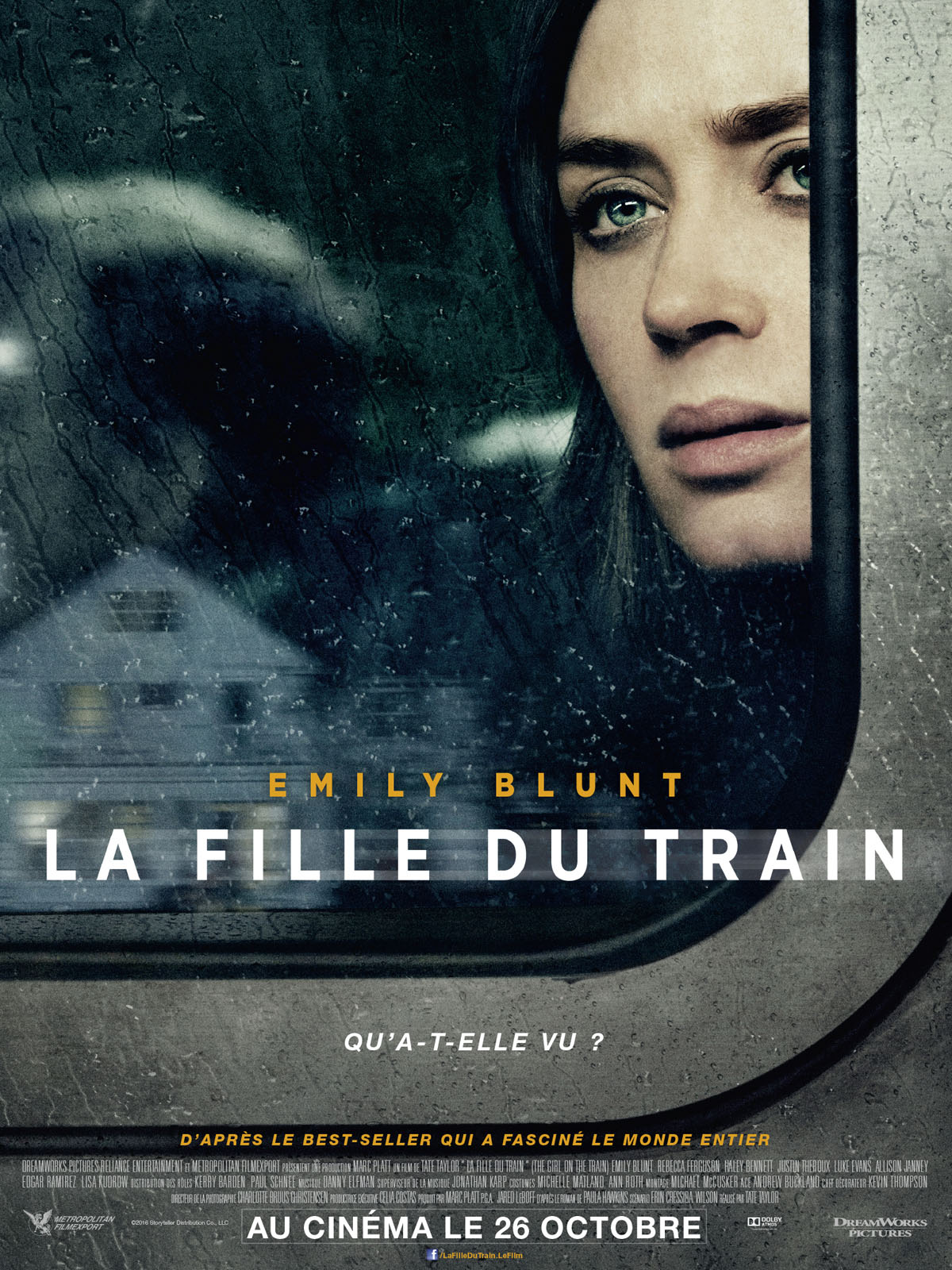 Fille folle sur le train