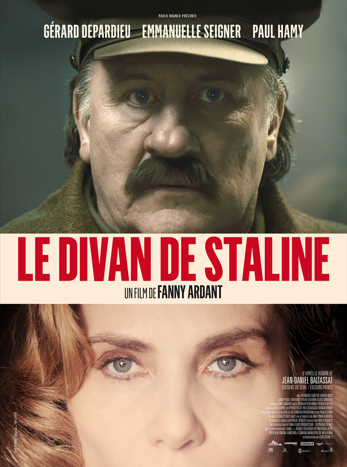 Le divan de Staline / Fanny Ardant, réal. | Ardant, Fanny (1949-....) (Réalisateur, metteur en scène, Scénariste)