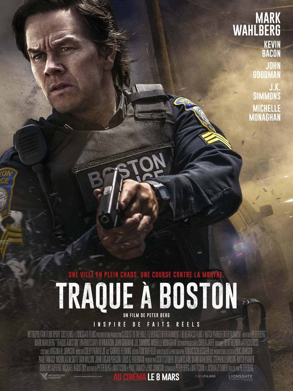 Anecdotes du film Traque à Boston - AlloCiné