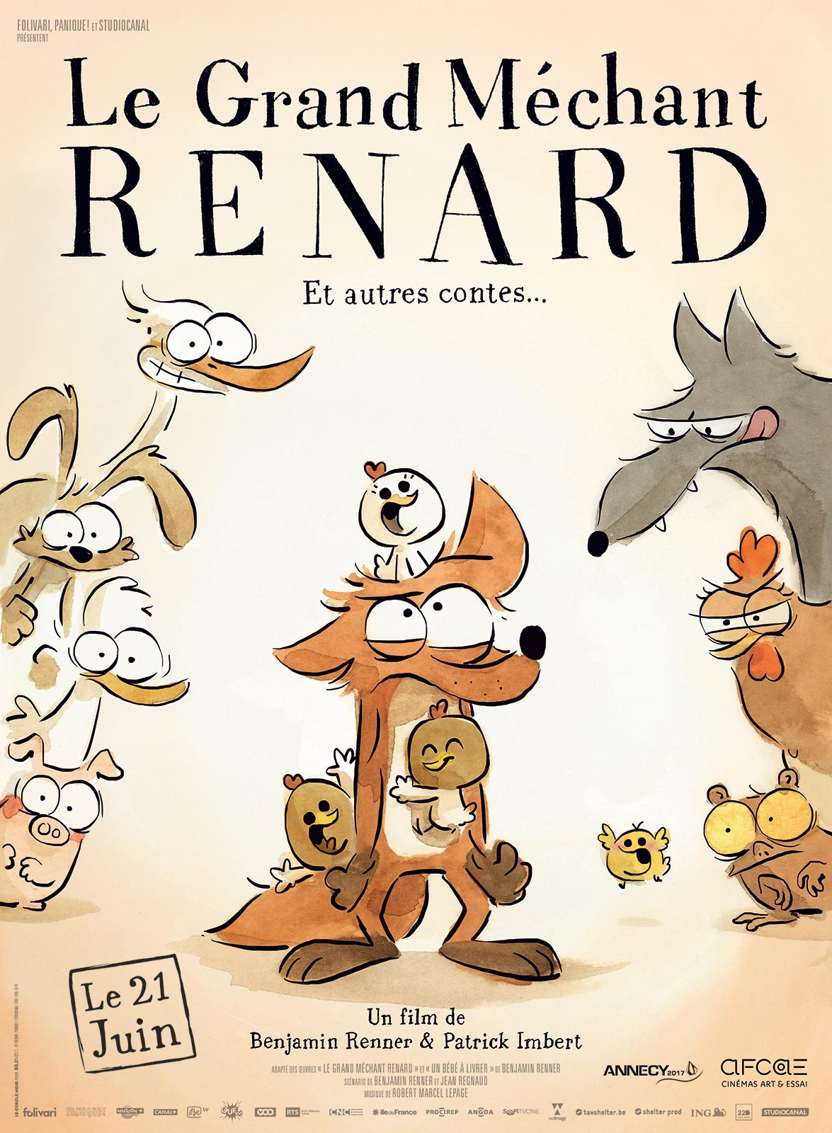 Le Grand Méchant Renard et autres contes streaming