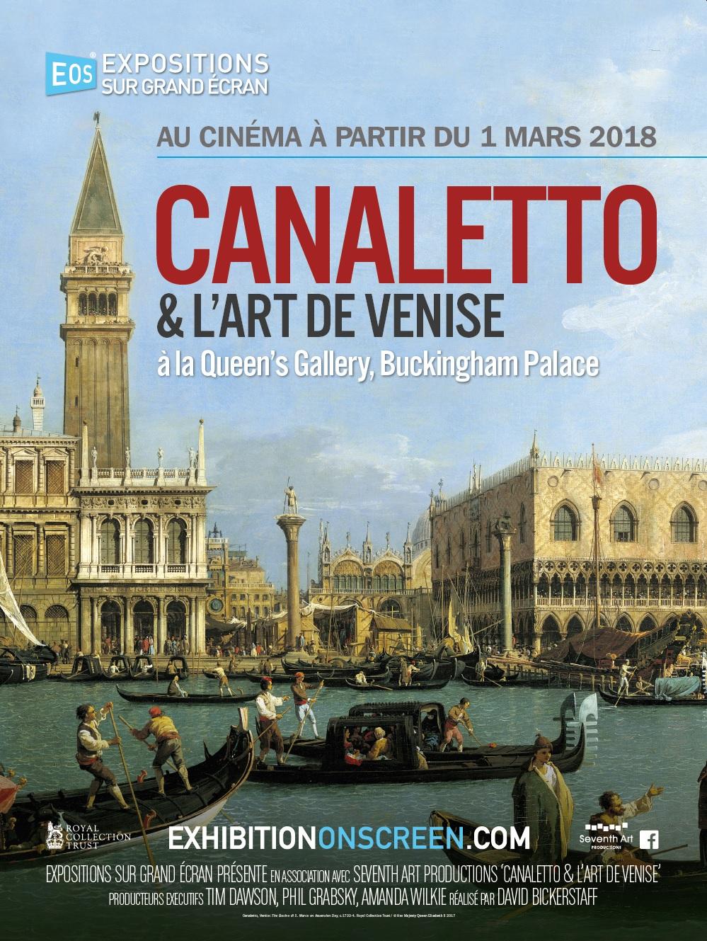 Image du film Canaletto et l'art de Venise à la Queen's Gallery, Buckingham Palace