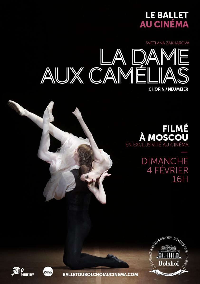 Image du film La Dame aux camélias (Bolchoï-Pathé Live)