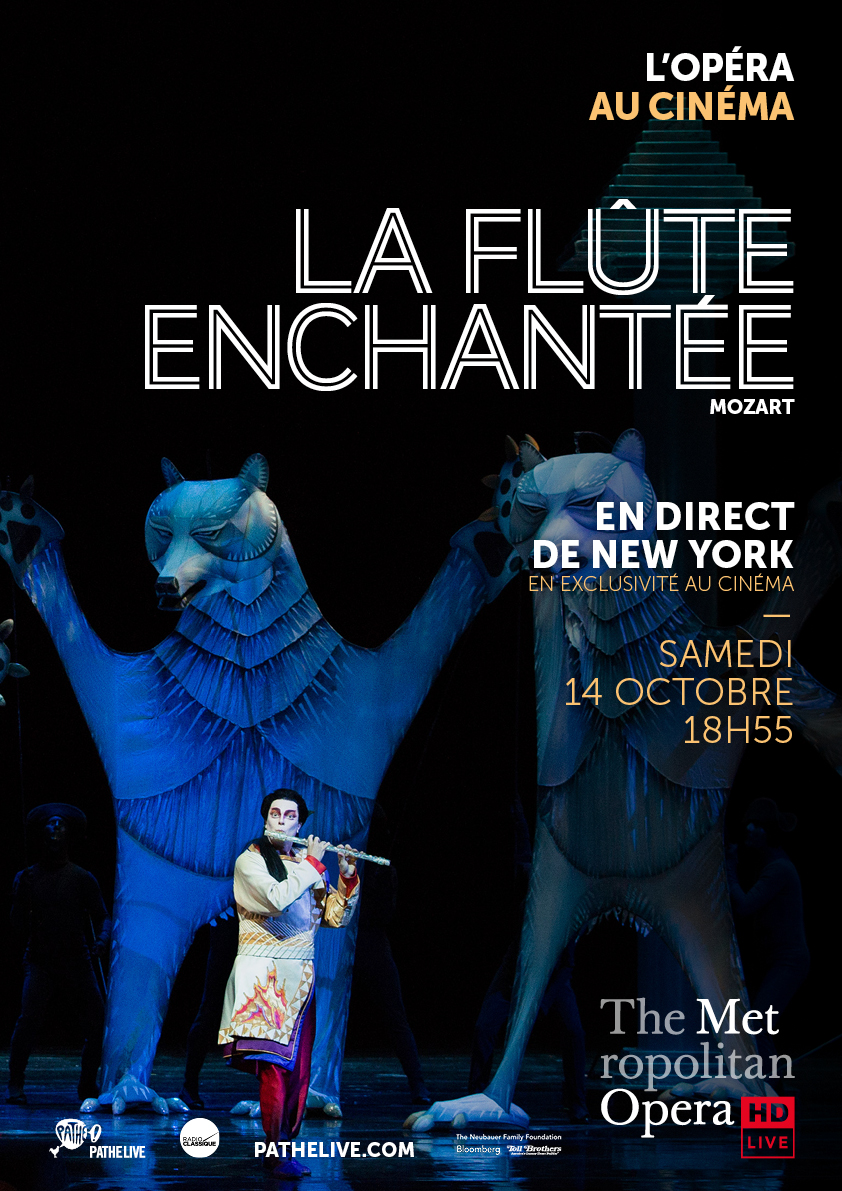 Affiche du film La Flûte enchantée (Met-Pathé Live)