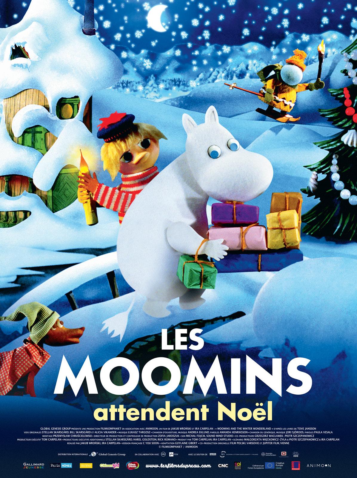 dessin anime noel 2018 cinema Les Moomins attendent Noël   film 2017   AlloCiné dessin anime noel 2018 cinema