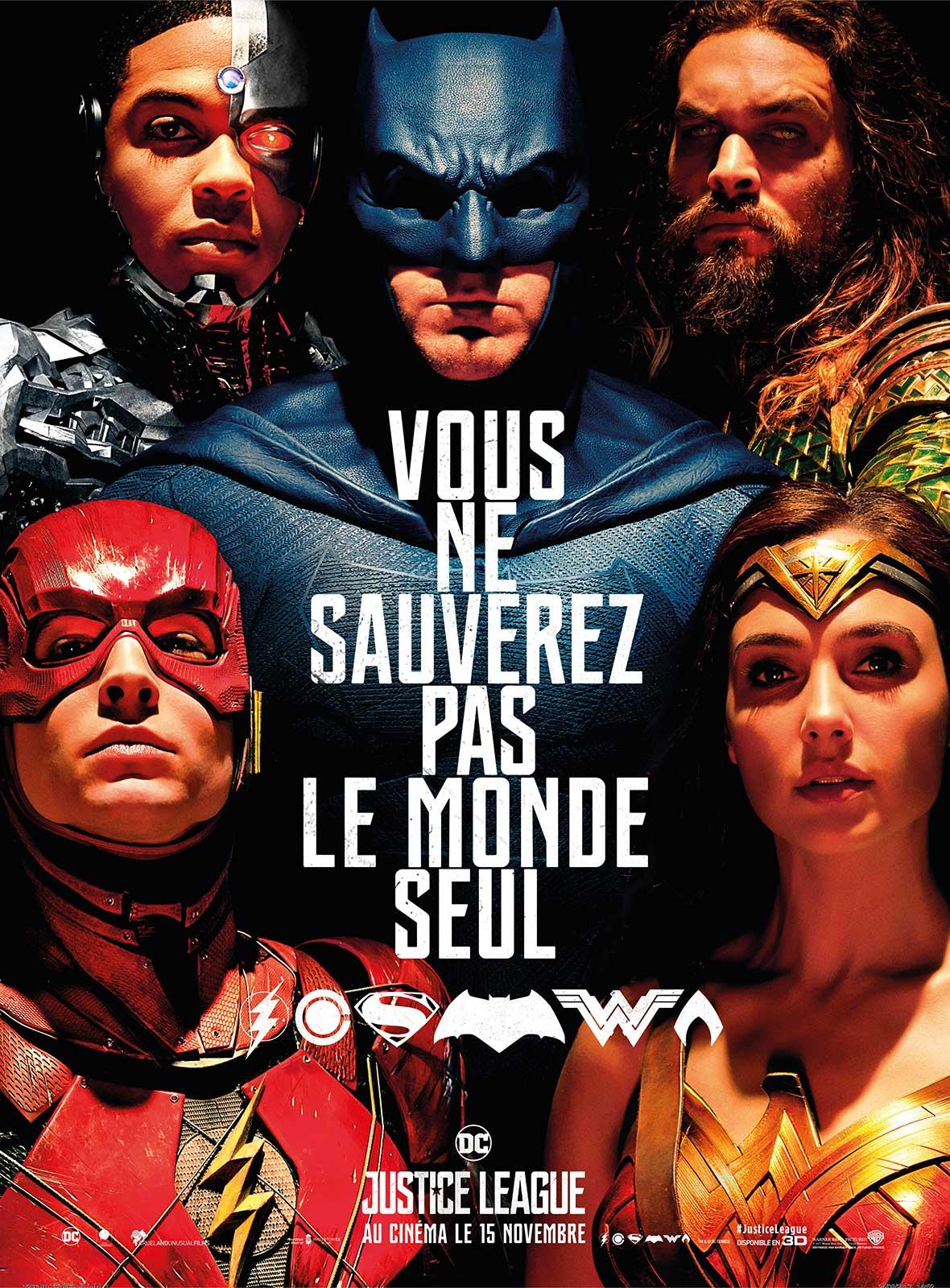Affiche du film Justice League - Affiche 7 sur 27 - AlloCiné