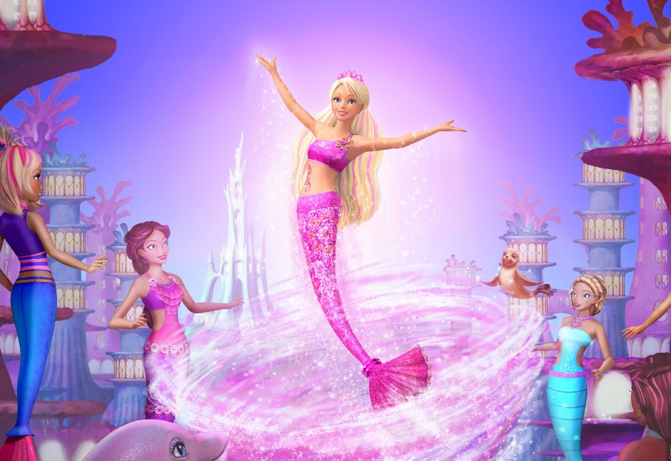 Barbie et le secret des sir nes - Barbi sirene 2 film ...