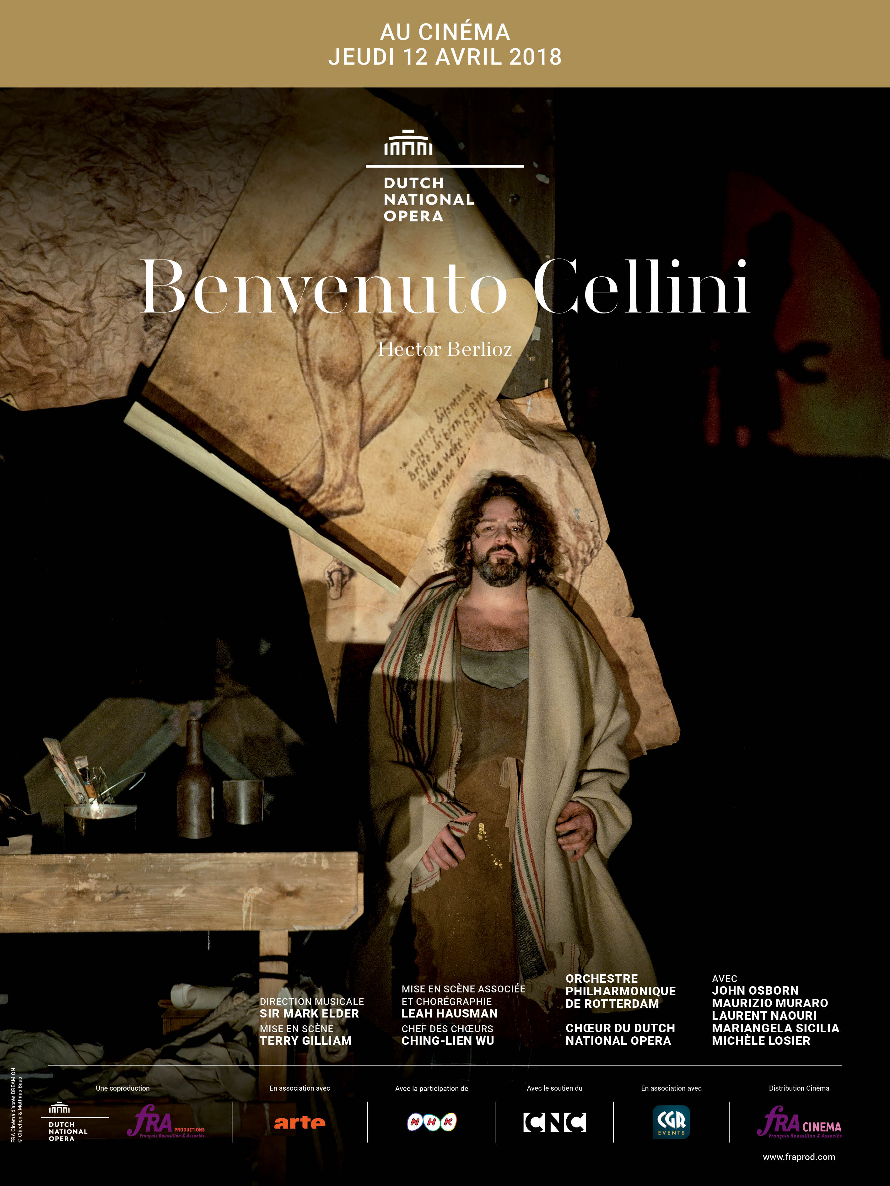 BENVENUTO CELLINI DNO AMSTERDAM 2018 FRA