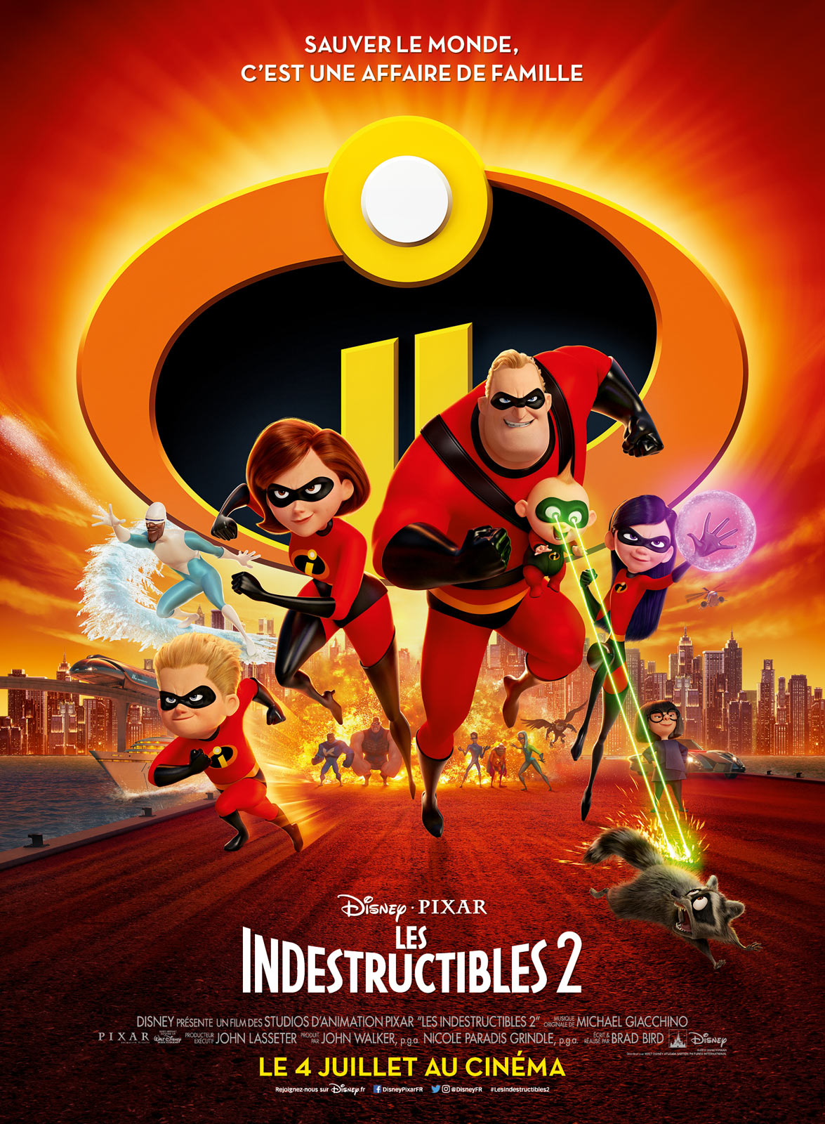Les Indestructibles 2 - film 2018