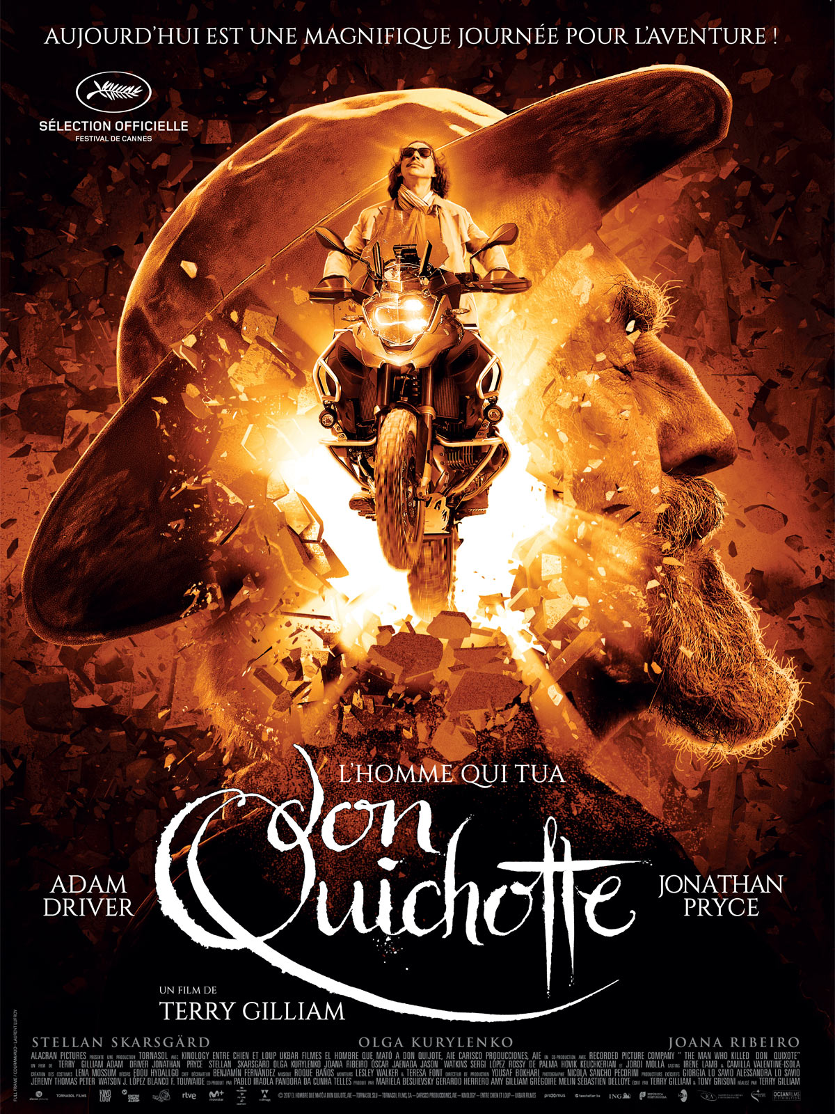 L'Homme qui tua Don Quichotte streaming