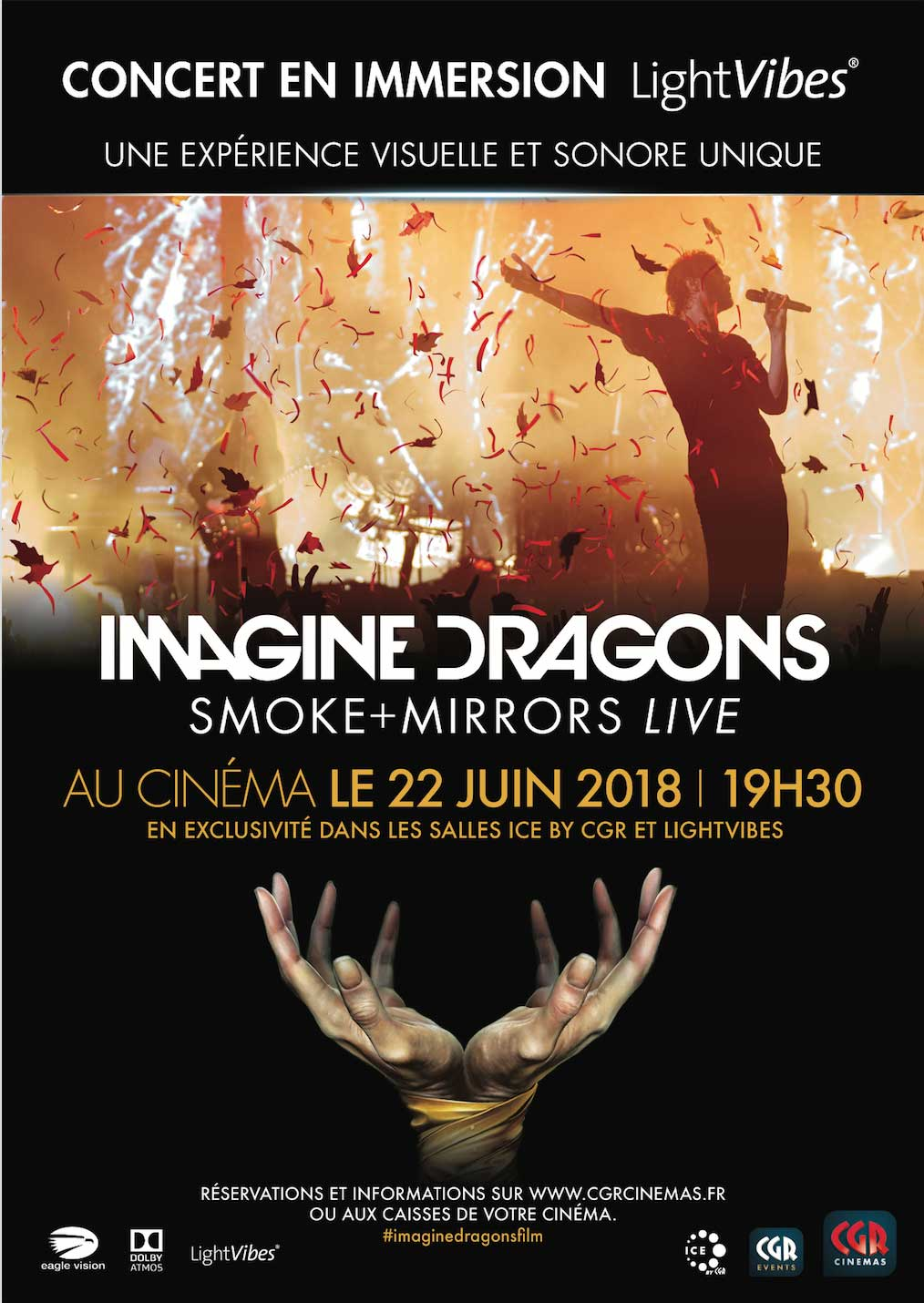 telecharger Imagine Dragons - Smoke+Mirrors (CGR Events) BDRIP 1080p