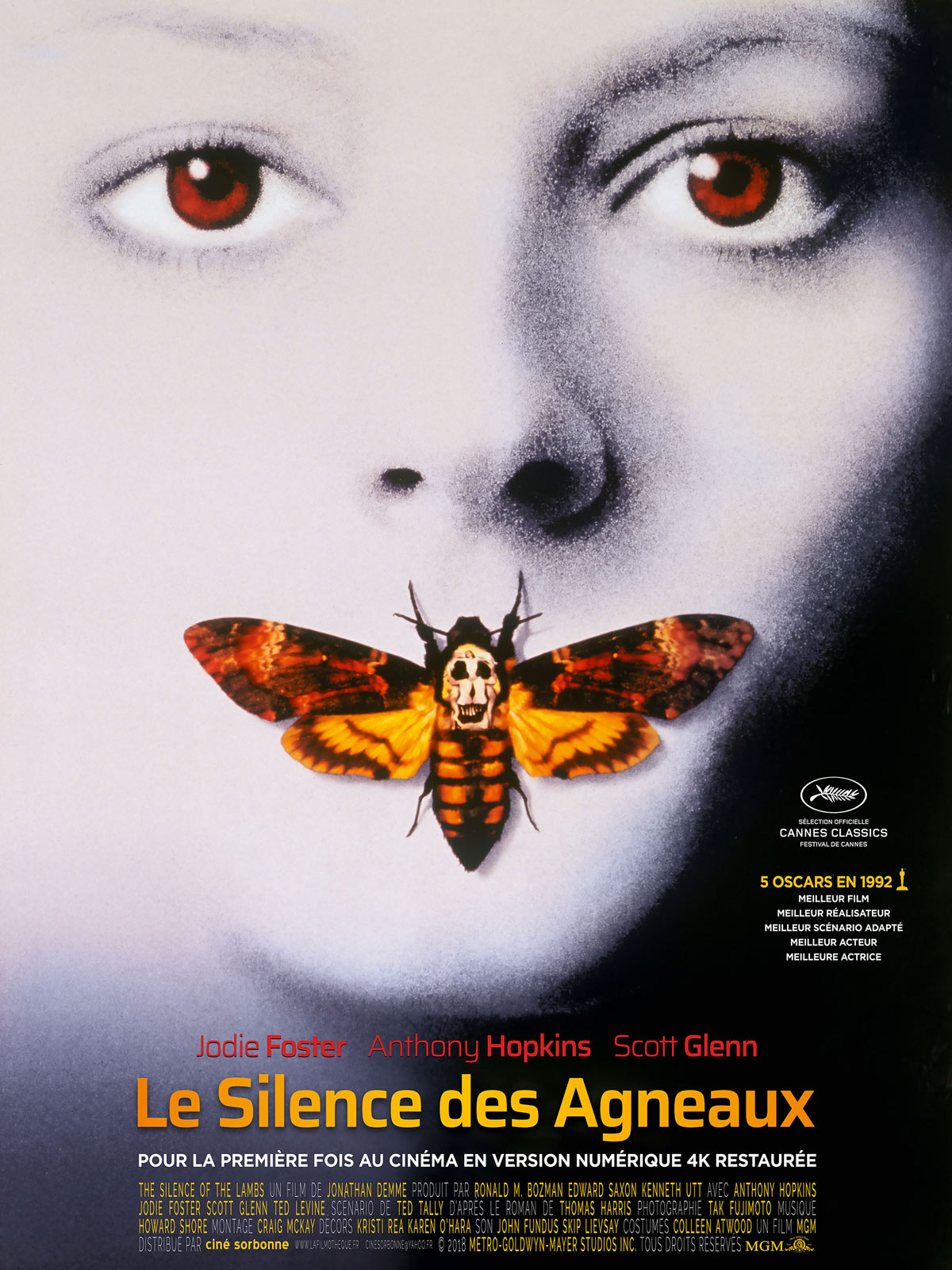 Image du film Le Silence des agneaux