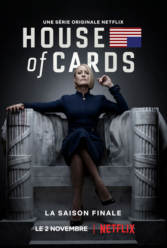 Telecharger House of Cards- Saison 6 [COMPLETE] [08/08] VOSTFR | Qualité Web-DL