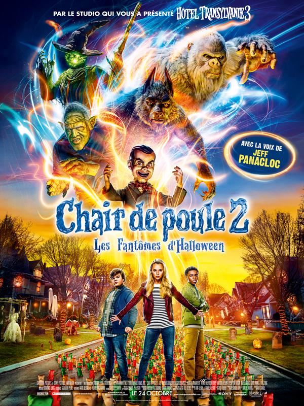 Chair de poule 2 : Les Fantômes d'Halloween streaming