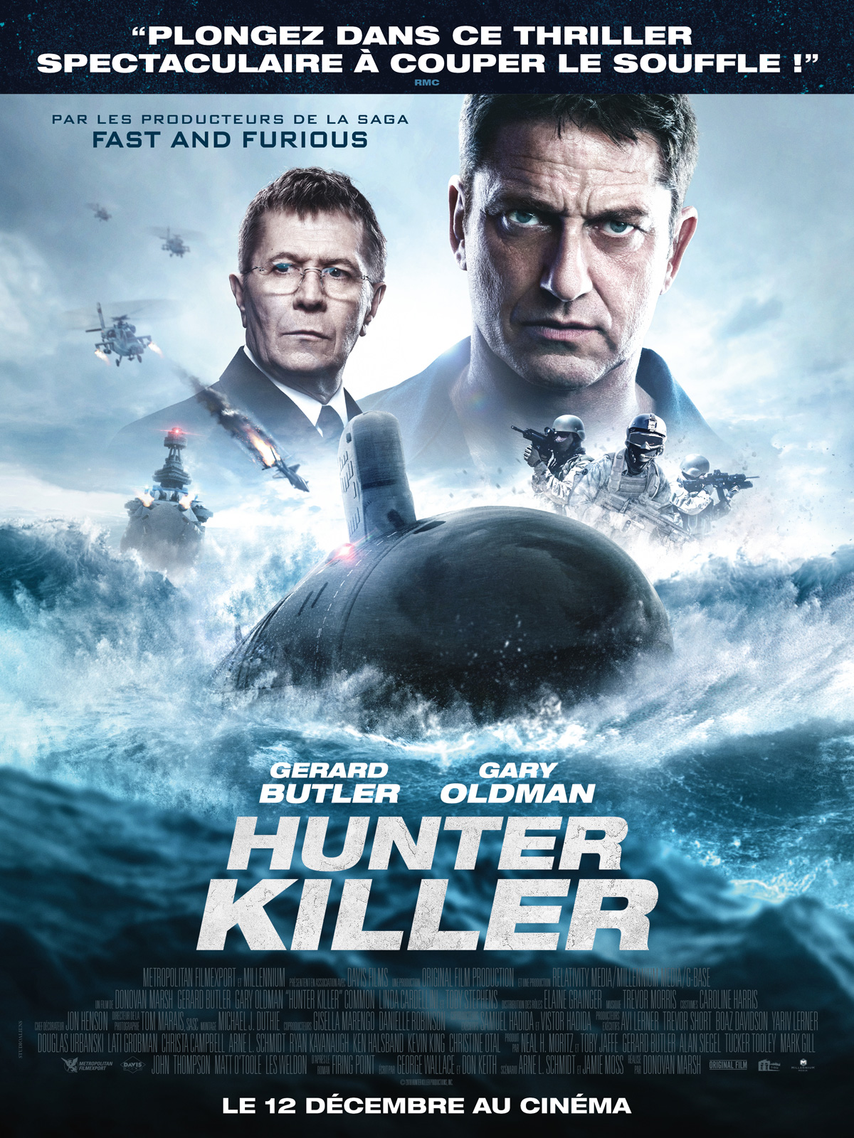 Hunter Killer streaming