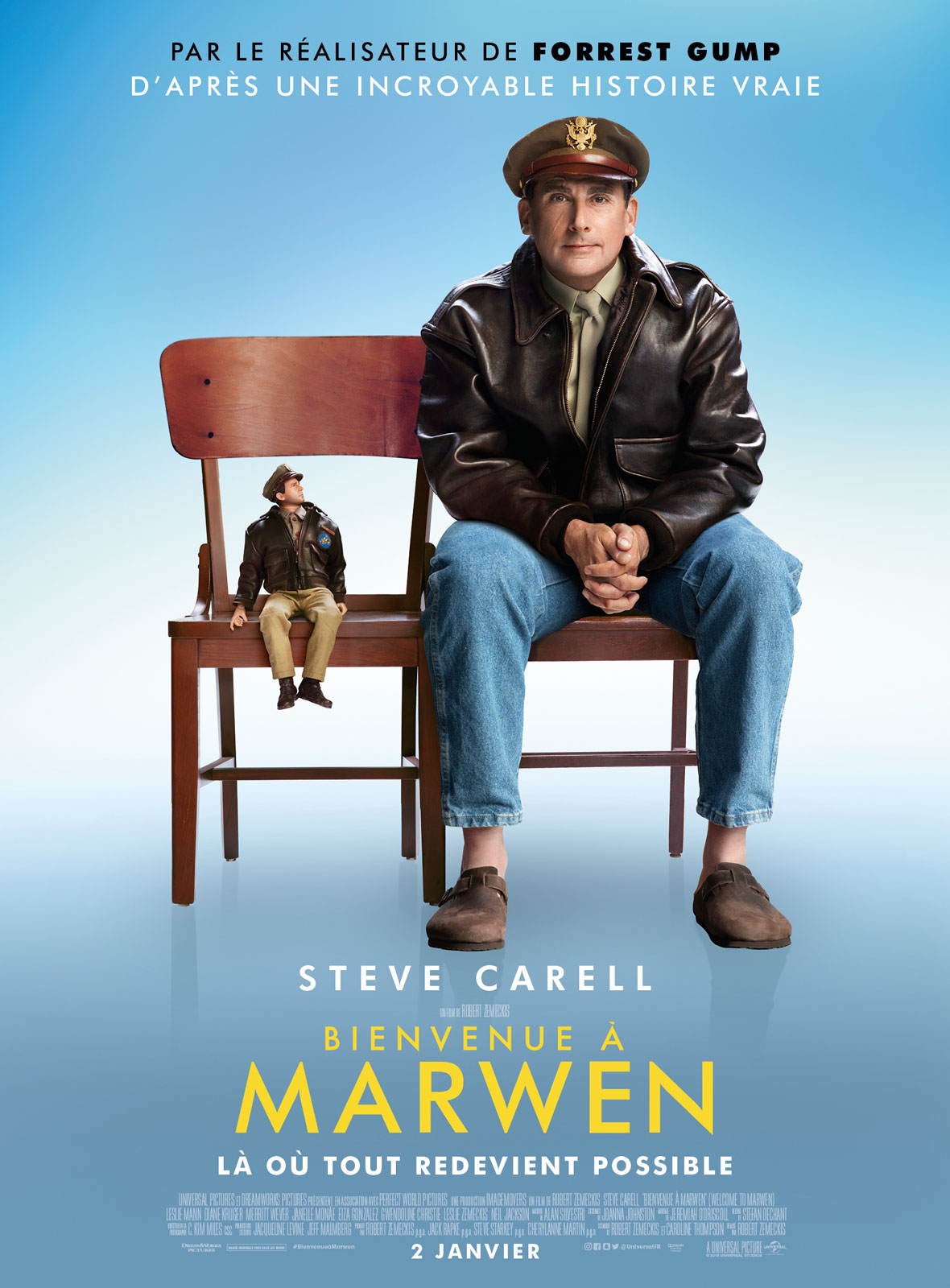 Bienvenue à Marwen streaming
