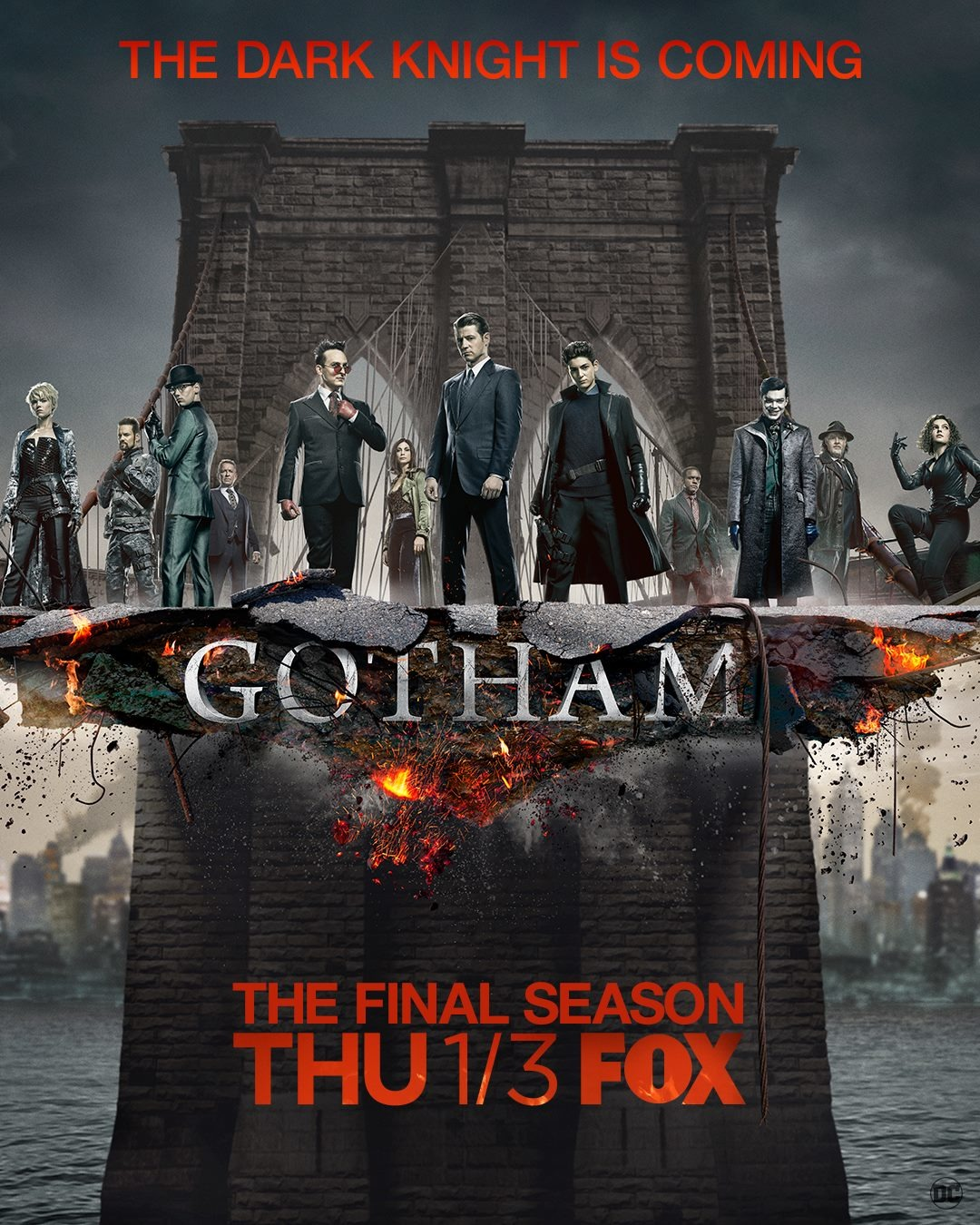 Calendrier Gotham.Gotham 2014 Saison 5 Allocine