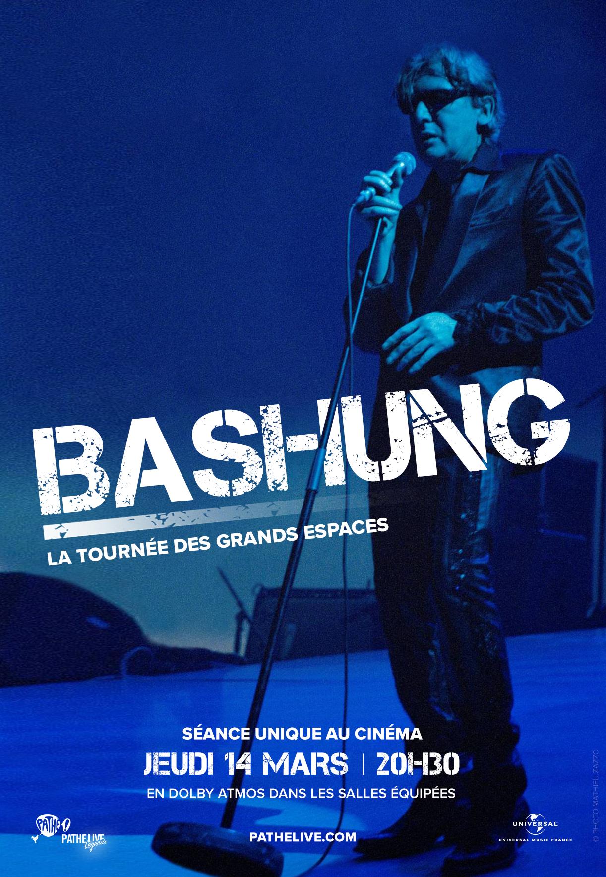 Image du film Bashung au cinéma - La tournée des grands espaces (Pathé Live)