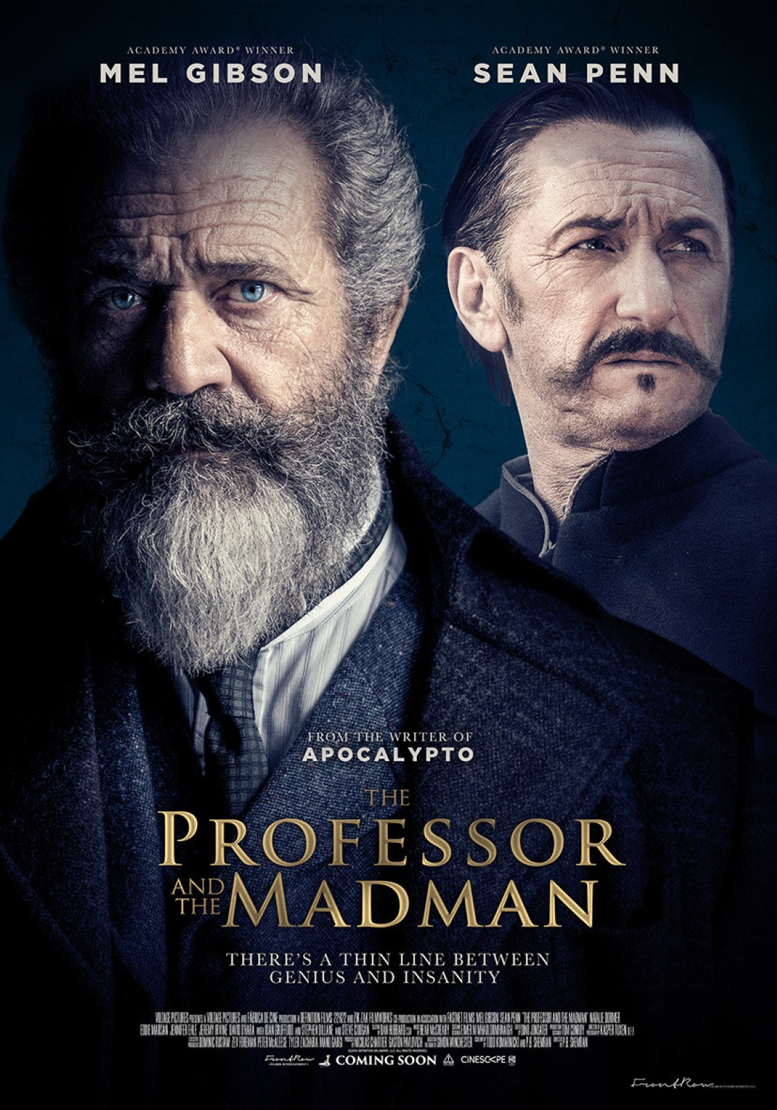 The Professor And The Madman streaming