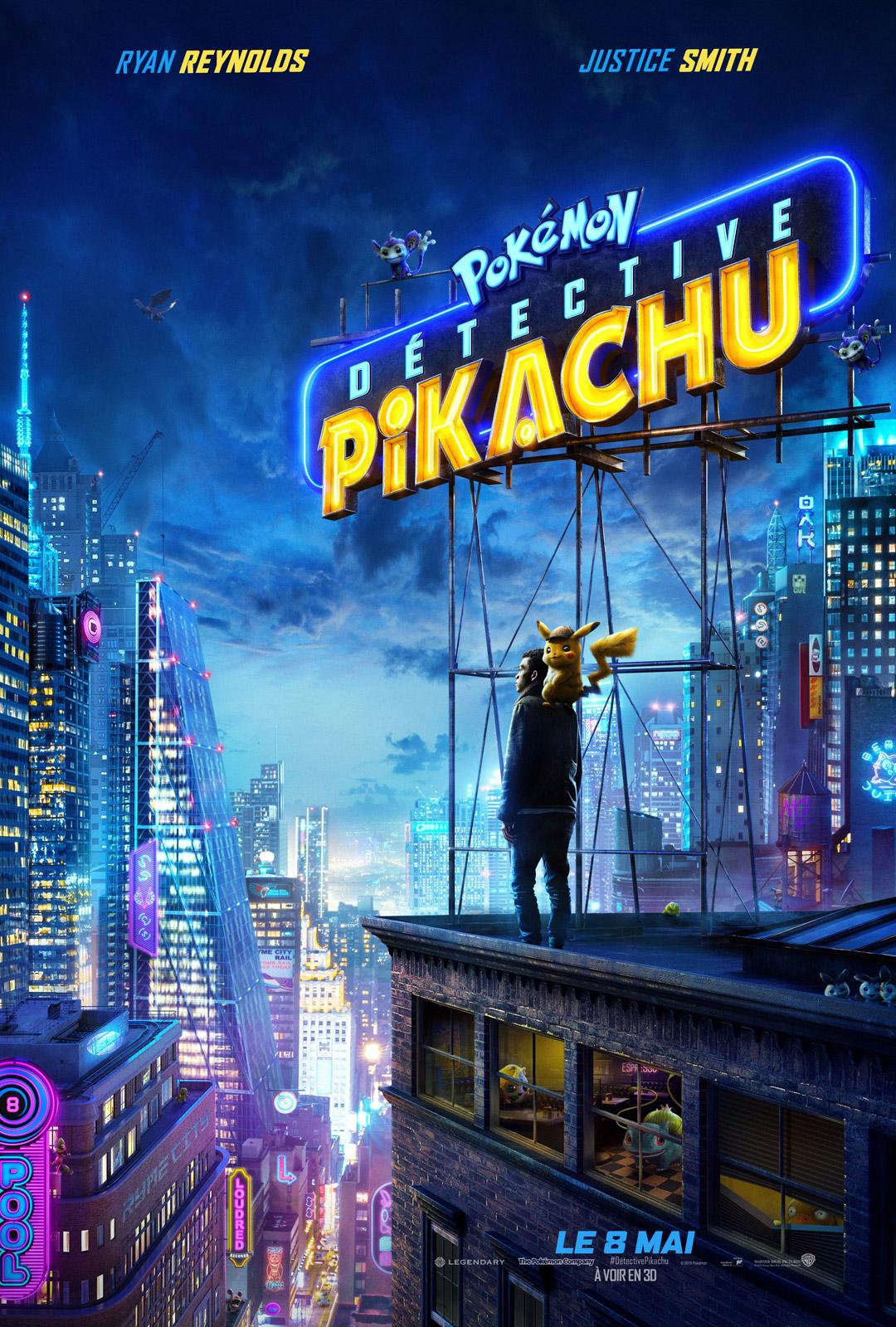 Pokémon Détective Pikachu streaming