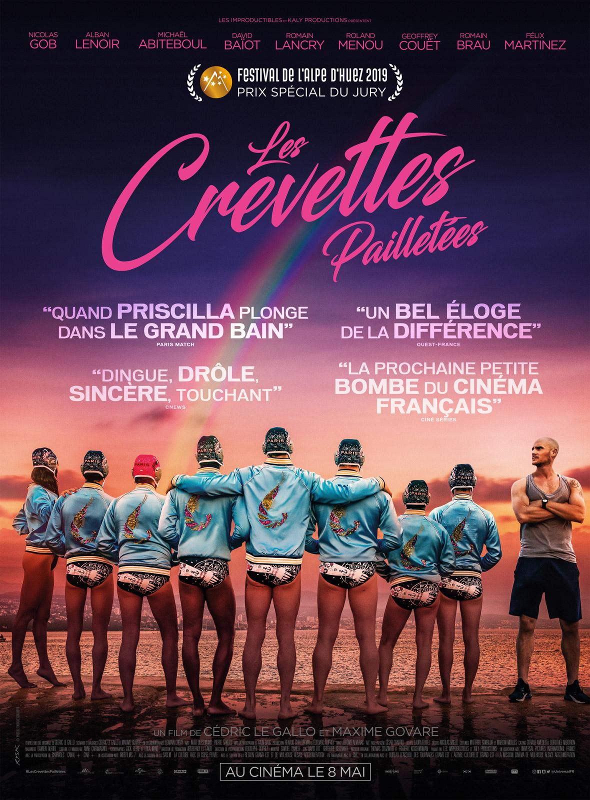 LES CREVETTES PAILLETEES