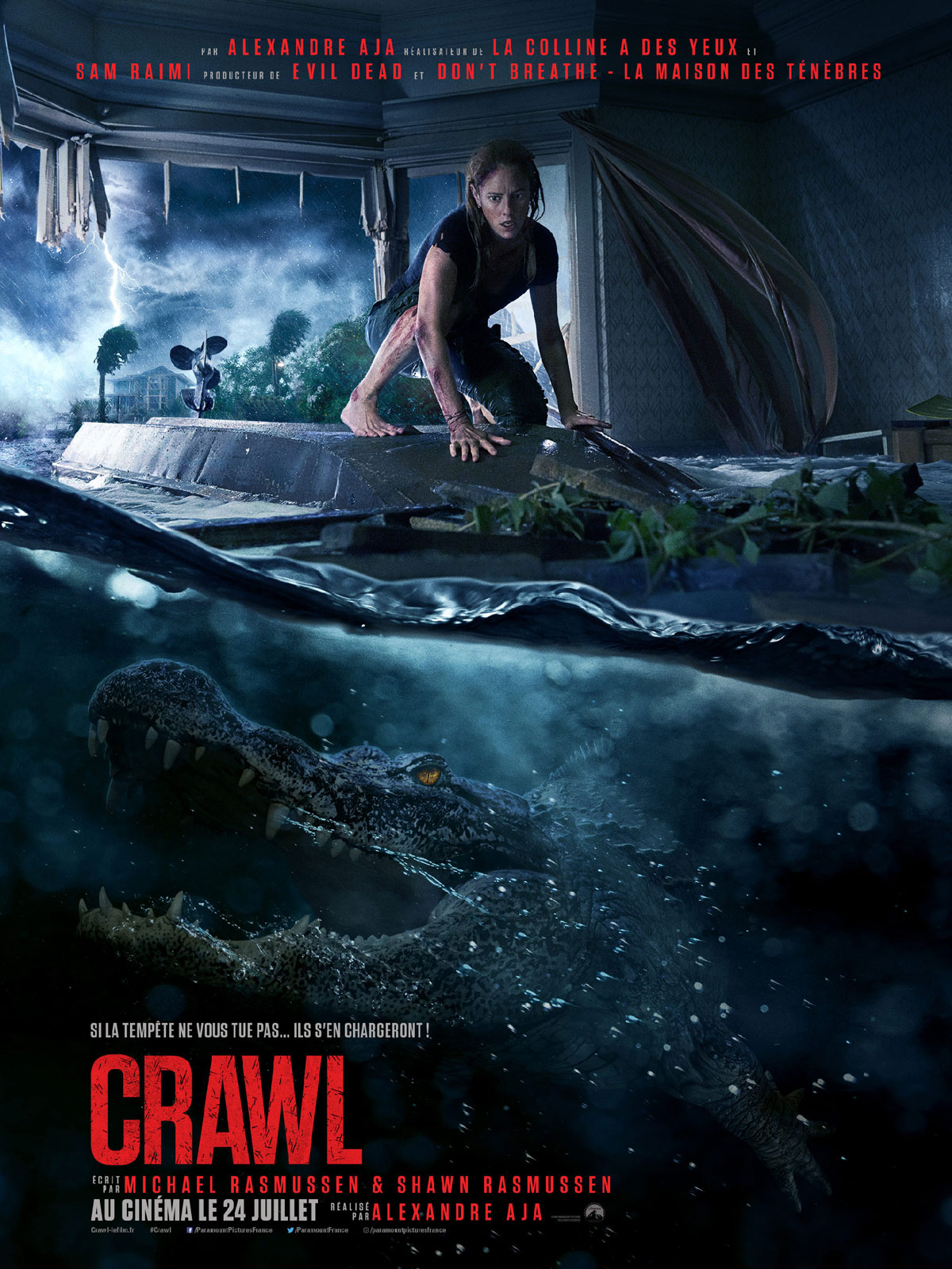 affiche du film : Crawl