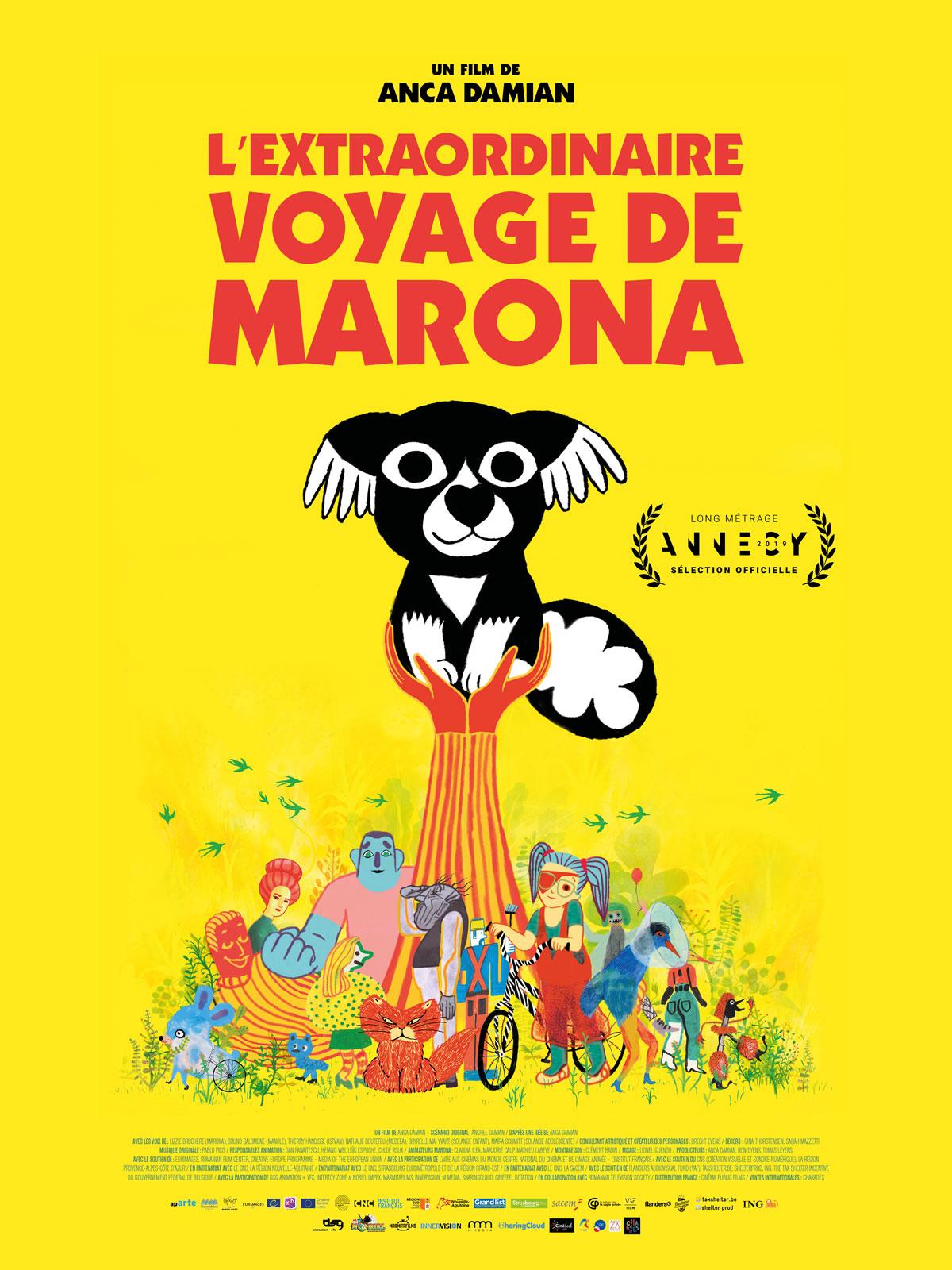 L'Extraordinaire Voyage de Marona streaming