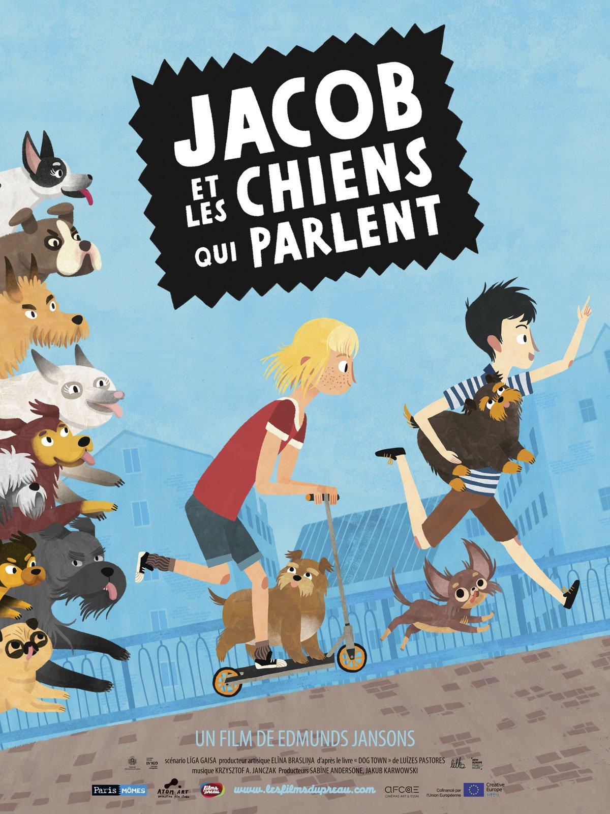 Jacob et les chiens qui parlent streaming