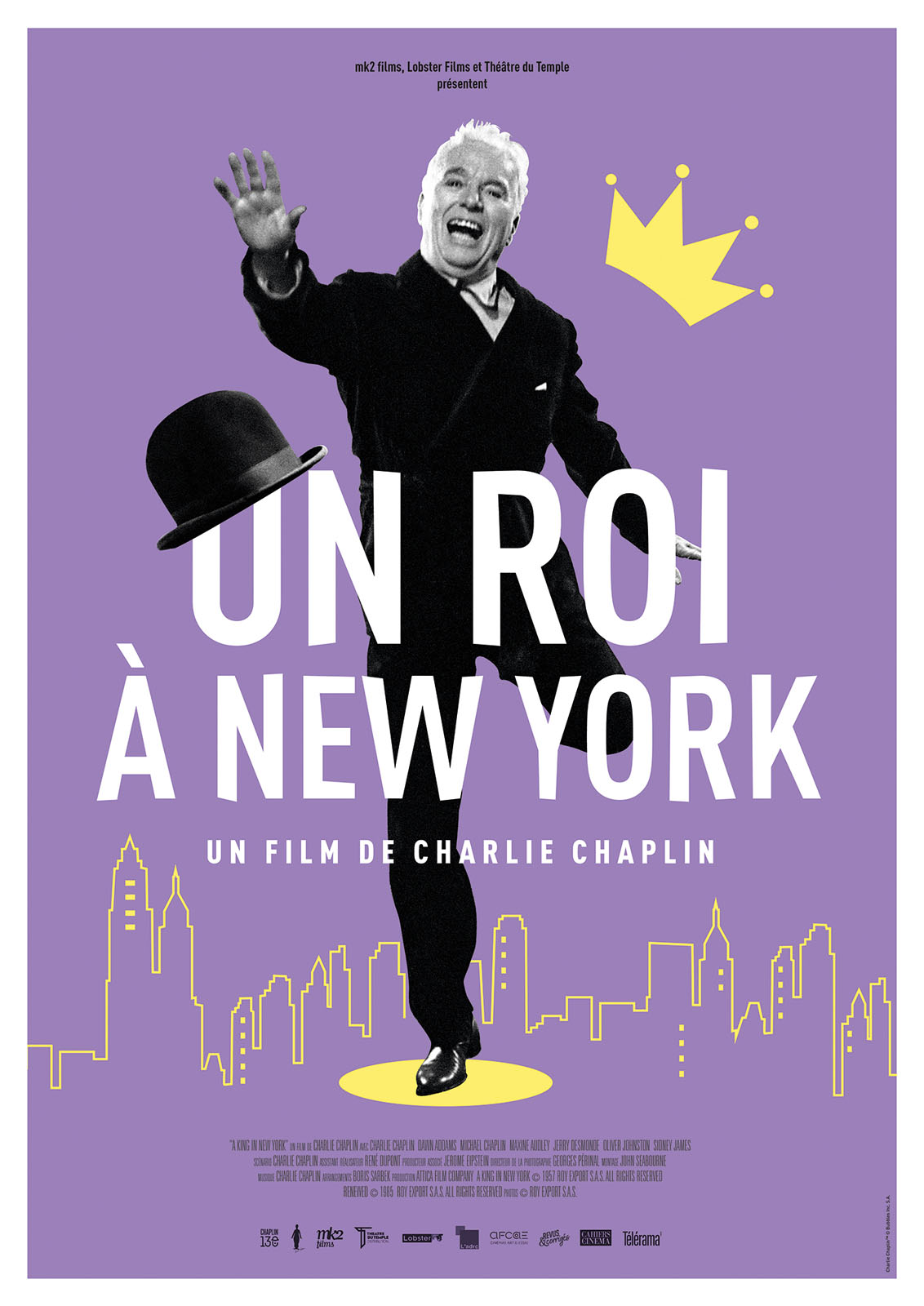 affiche du film : Un Roi à New York