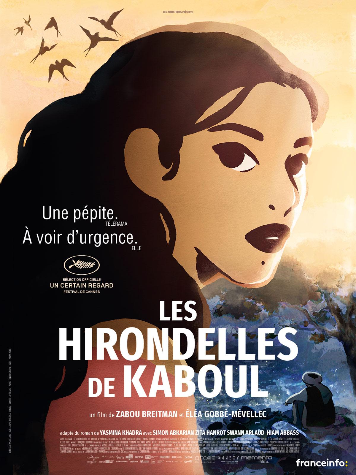 Affiche film LES HIRONDELLES DE KABOUL