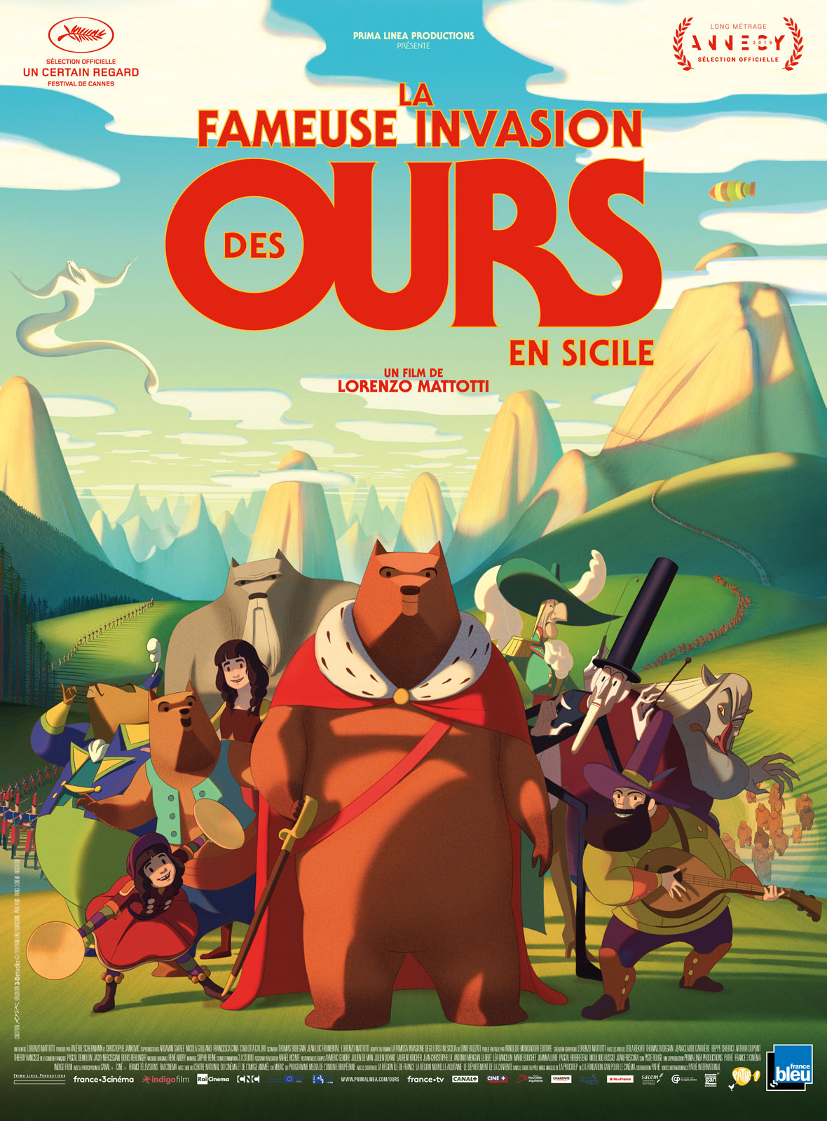 La Fameuse invasion des ours en Sicile streaming