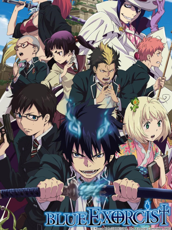Blue Exorcist streaming
