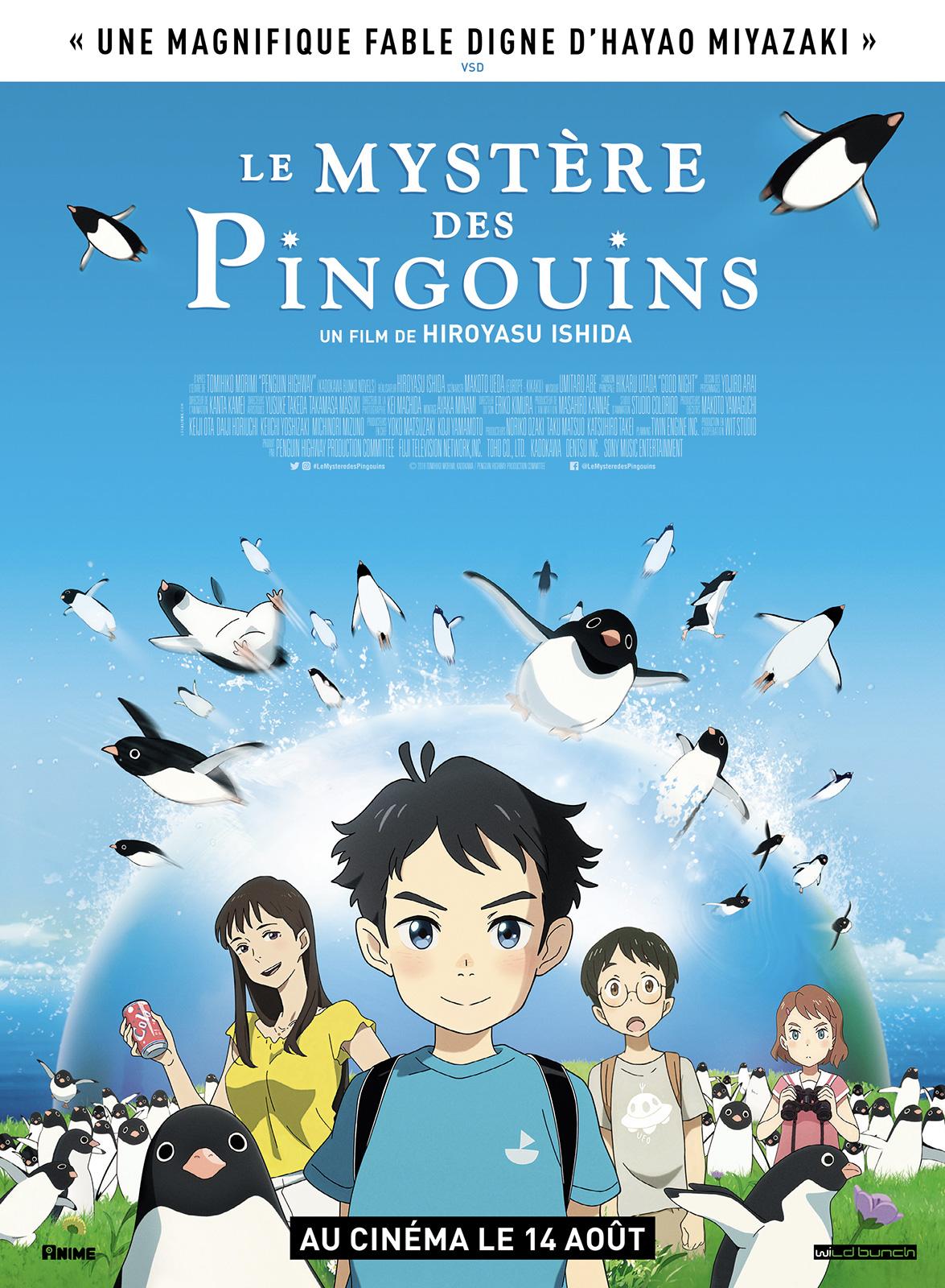 Image du film Le Mystère des pingouins