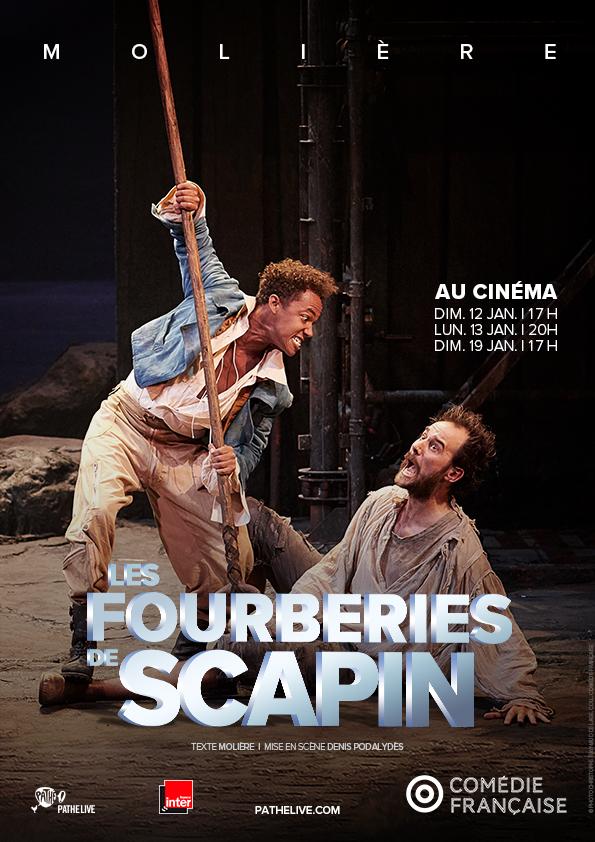 Image du film Les Fourberies de Scapin (Comédie-Française)