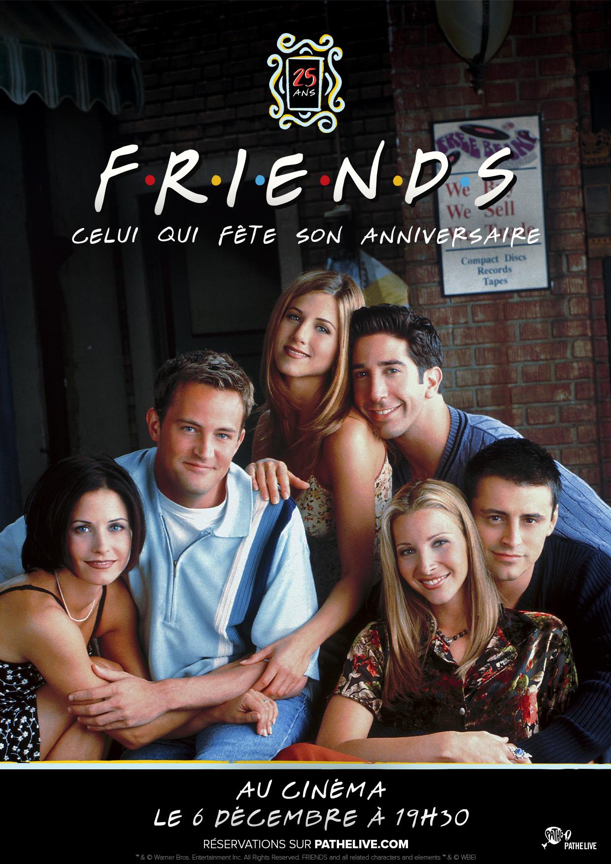 Image du film Friends 25: Celui qui fête son anniversaire