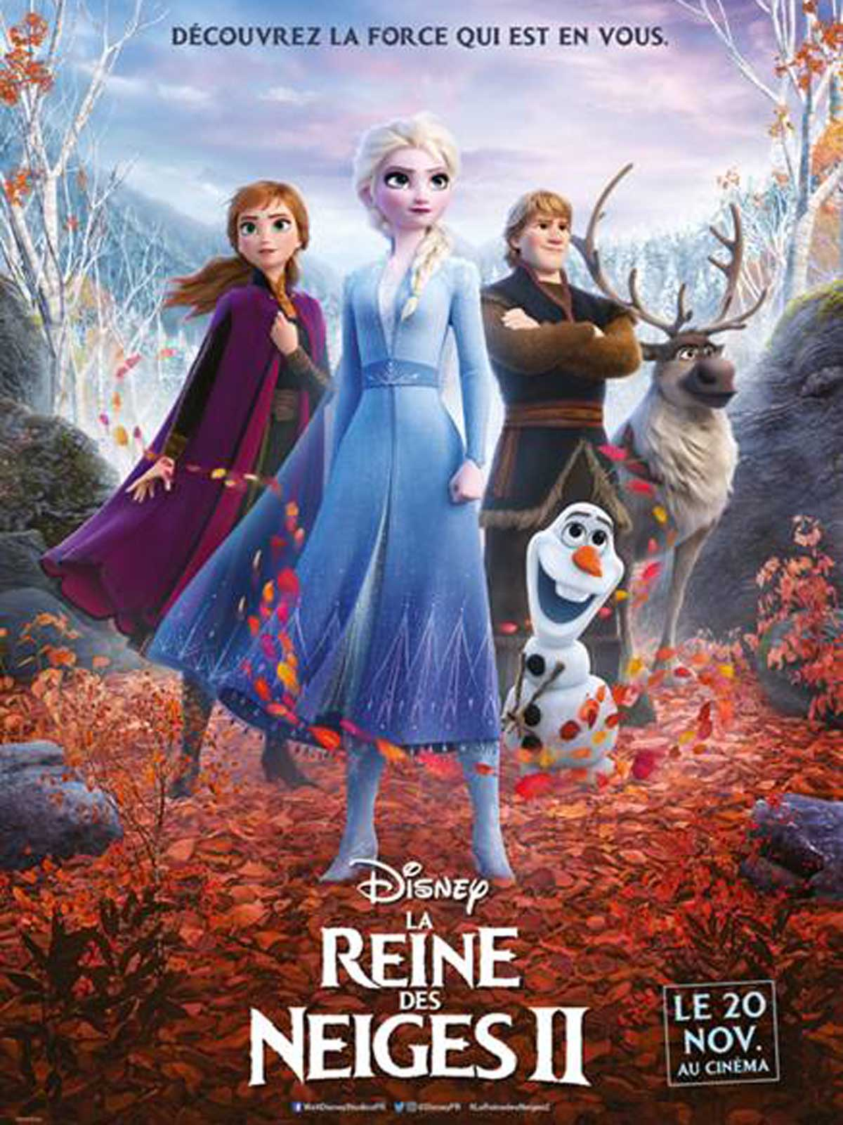 La Reine des neiges 2 streaming