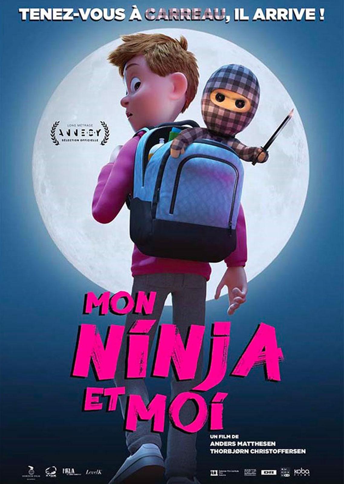 Affiche du film Mon ninja et moi - Affiche 2 sur 2 - AlloCiné