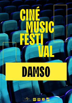 Ciné Music Festival:Damso Live l'AccorHotels Arena - 2018