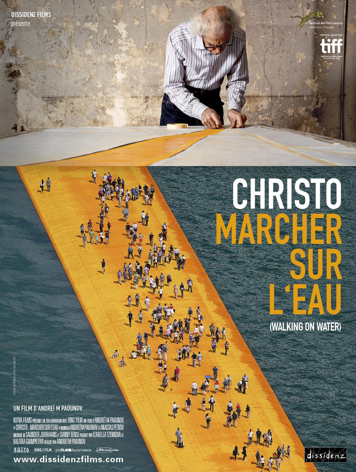 Christo : Marcher sur l'eau