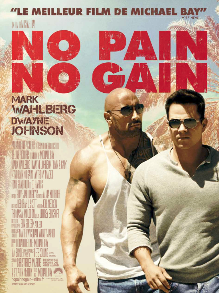 No Pain No Gain [MULTI-FRENCH] [DVD-R NTSC]