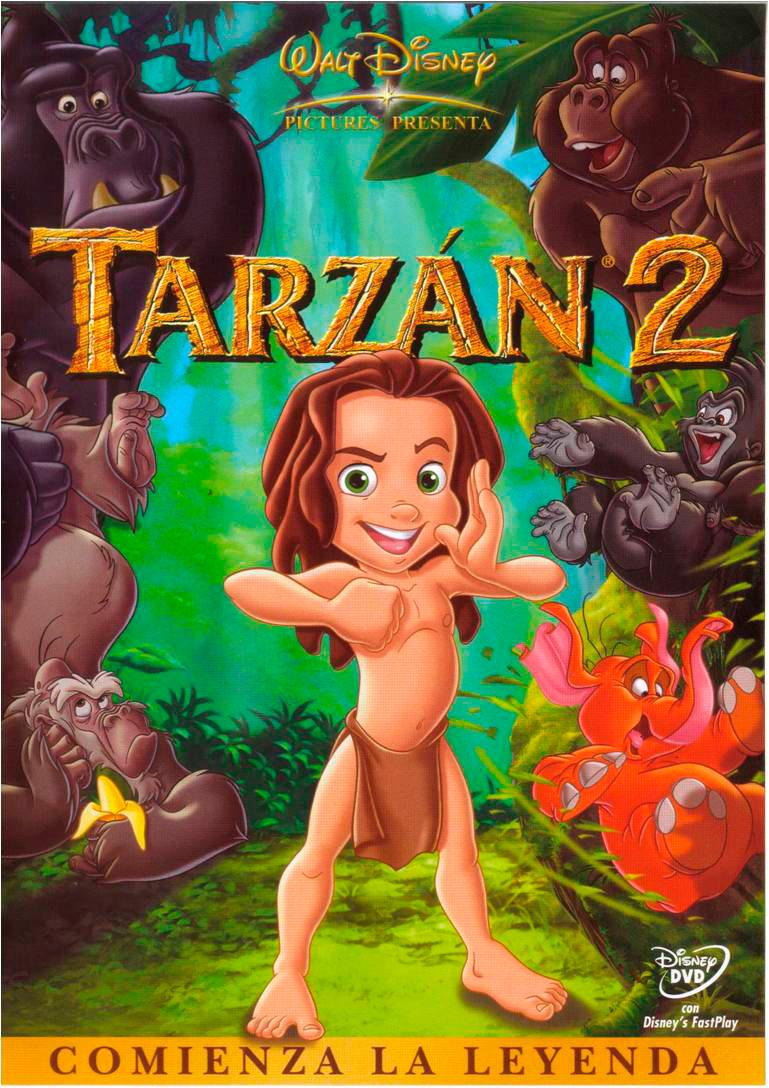 Affiche Du Film Tarzan Ii V Affiche 2 Sur 2 Allocin 233