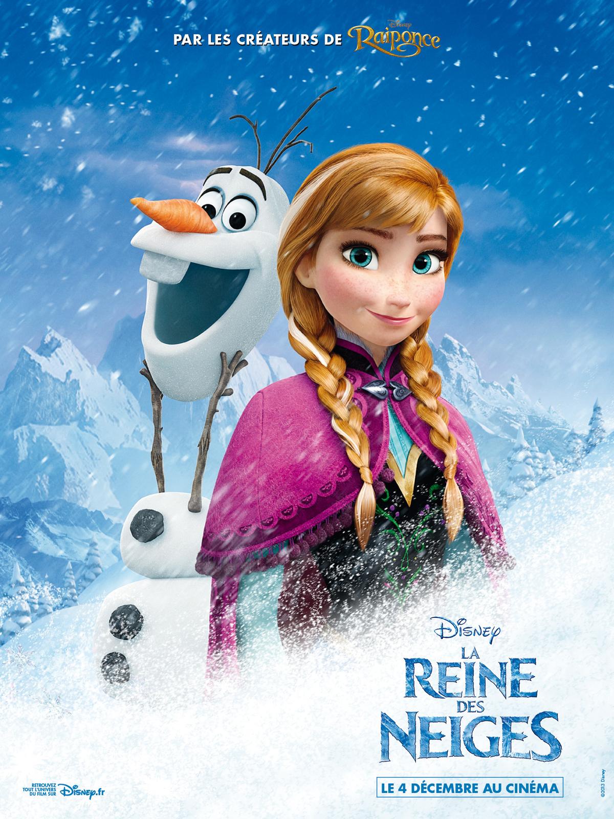 Affiche du film la reine des neiges affiche 2 sur 6 allocin - La ren des neige ...