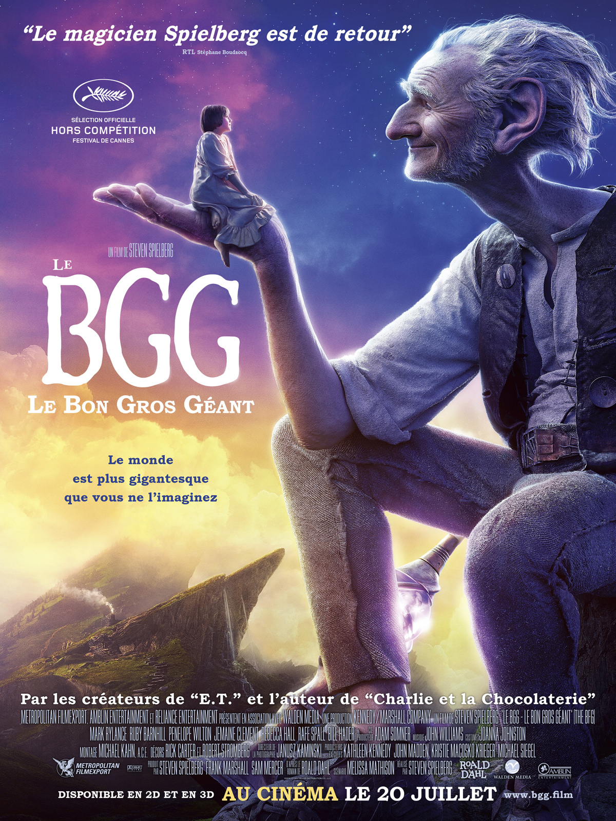 le bon gros geant streaming