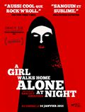 Photo : A Girl Walks Home Alone At Night