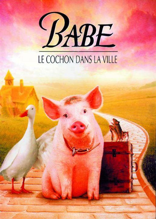 Affiche du film babe le cochon dans la ville affiche 1 sur 1 allocin - Papa cochon a la piscine ...